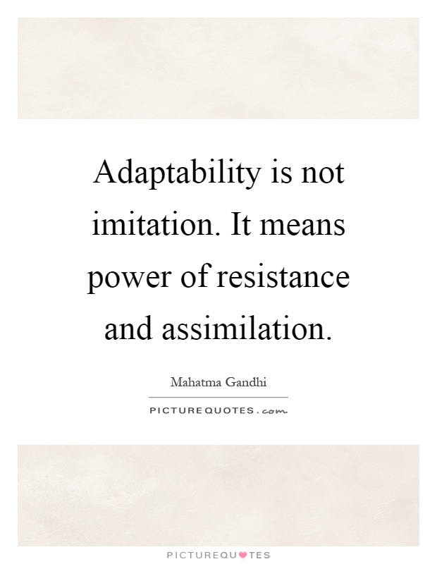 Good Adaptability Quotes
