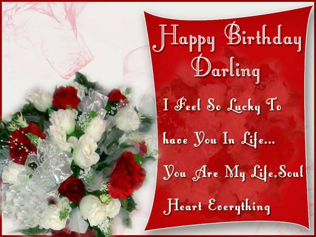 Happy Birthday Darling I Feel Happy Birthday Wishes For Husband Images Free Download