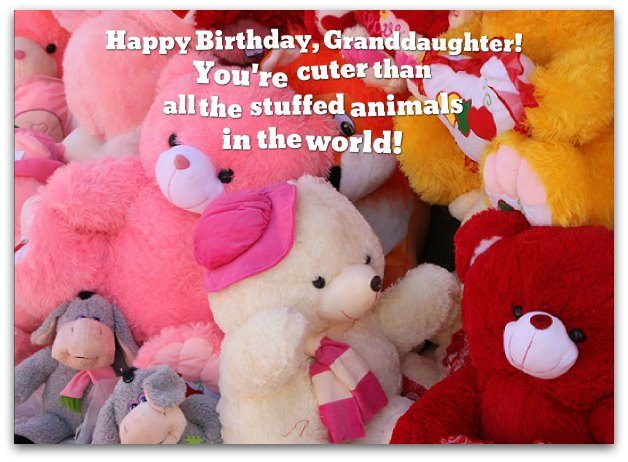 Happy Birthday, Granddaughter! You're Sweet Sayings About Granddaughters