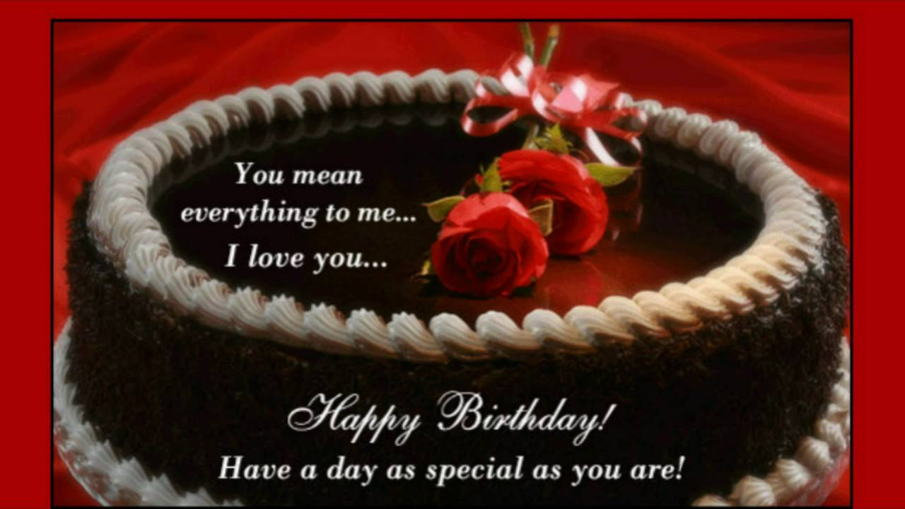 Happy Birthday Images For Husband Free Download You Mean Everything To Me