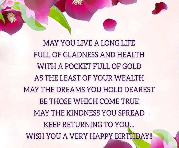 Happy Birthday Principal Poem May You Live A Long