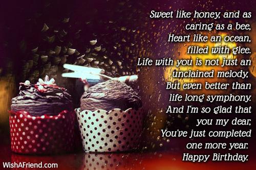 Happy Birthday Principal Poem Sweet Like Honey And As