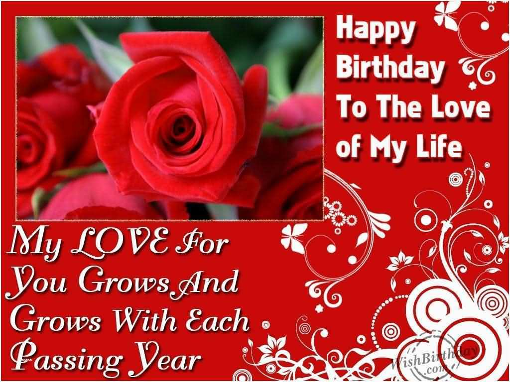 Happy Birthday To The Love Happy Birthday Wishes For Husband Images Free Download
