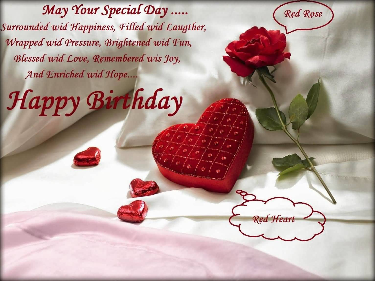 Happy Birthday Wishes For Husband Images Free Download May Your Special Day...