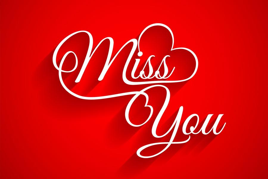 Heart Miss You Miss U Wallpaper For Boyfriend