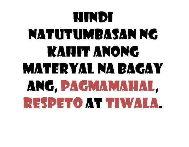Hindi Natutumbasan Ng Kahit Tagalog Quotes About Family Love Quotesbae