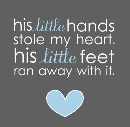 His Little Hands Stole Cute Nephew Quotes