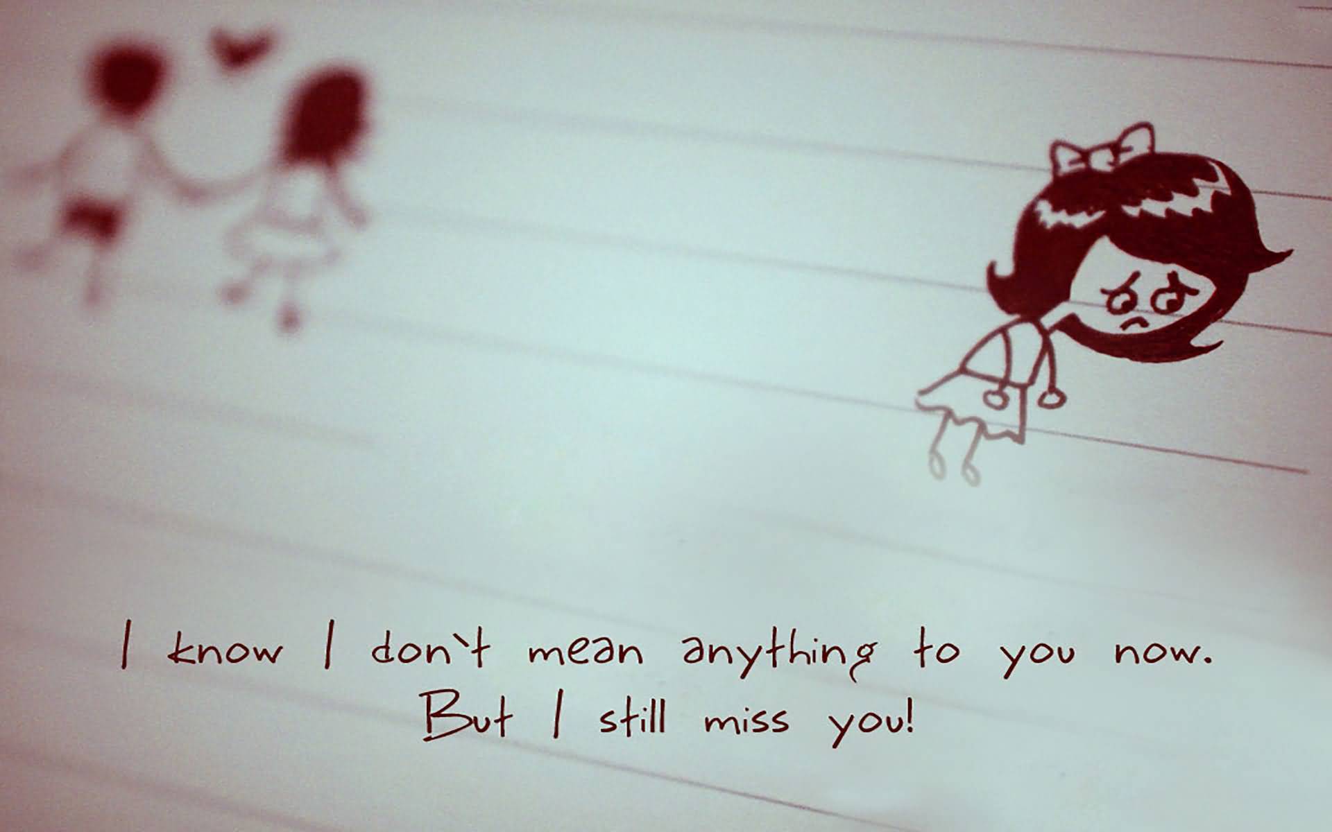 I Know I Don't Mean Miss U Wallpaper For Boyfriend
