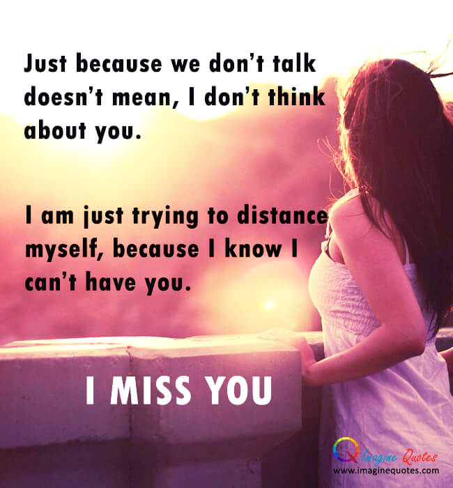 Just Because We Don't Miss U Wallpaper For Boyfriend