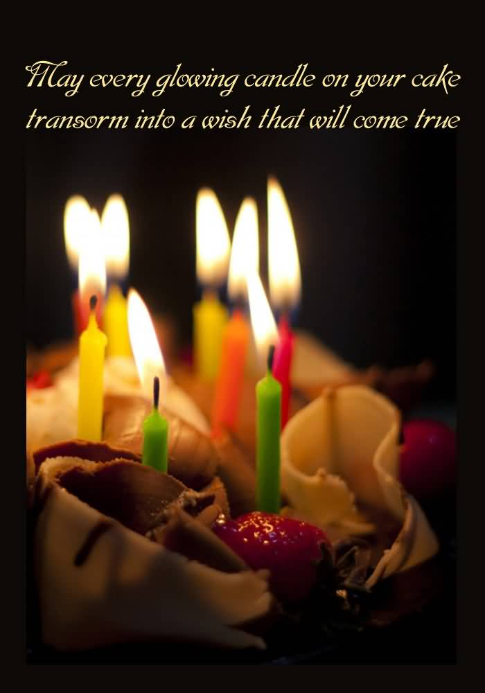 May Every Glowing Candle Happy Birthday Images For Husband Free Download