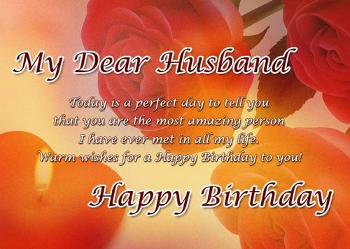 My Dear Husband Today Is A Happy Birthday Images For Husband Free Download