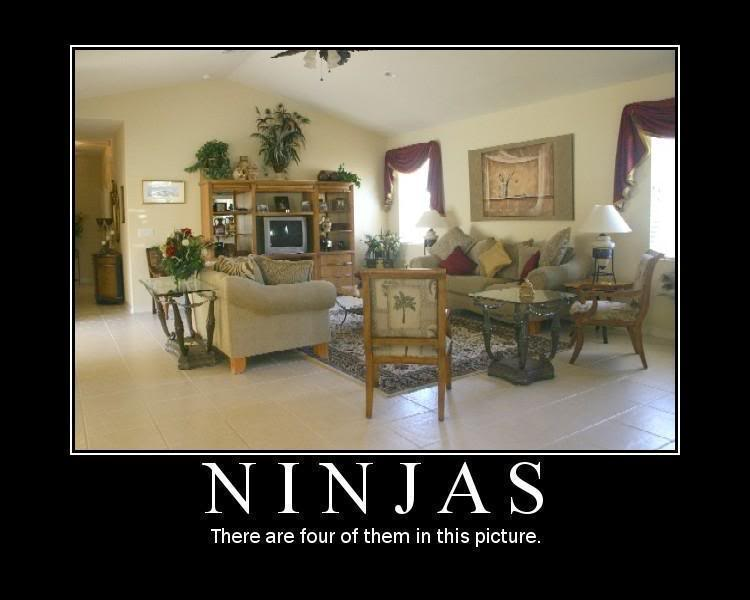 Ninjas There Are Four Of Them In This Picture Funny Ninja Memes