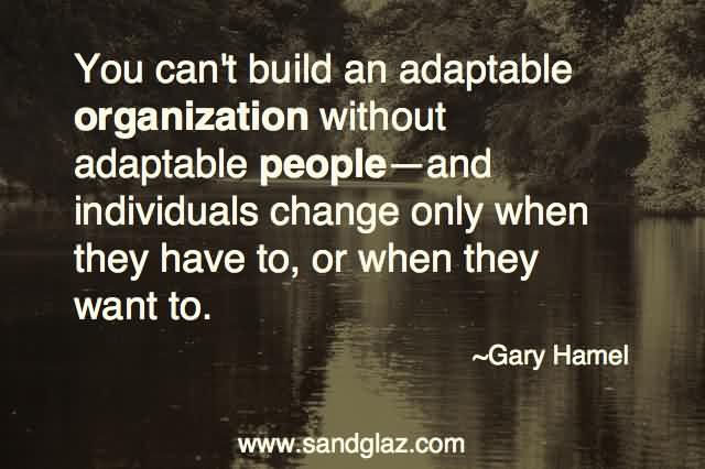 Outstanding Adaptability Quotes