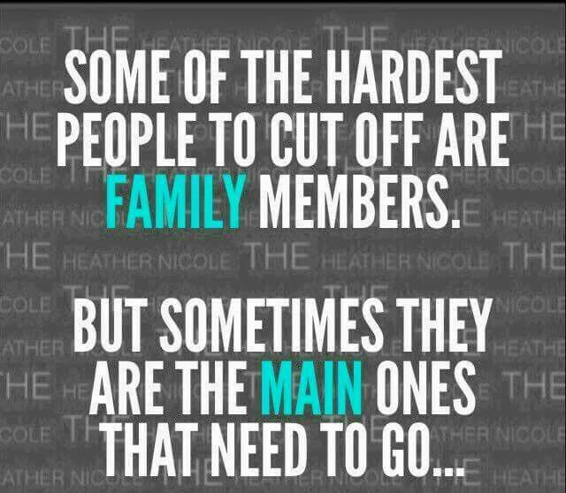 Some Of The Hardest Fake Family Quotes