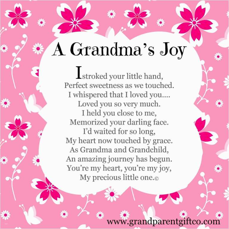 Sweet Sayings About Granddaughters A Grandma's Boy I Stroked