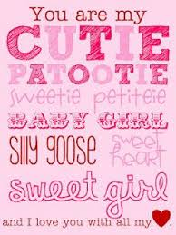 Sweet Sayings About Granddaughters You Are My Cutie Patootie