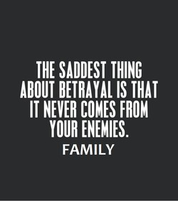 The Saddest Thing About Fake Family Quotes