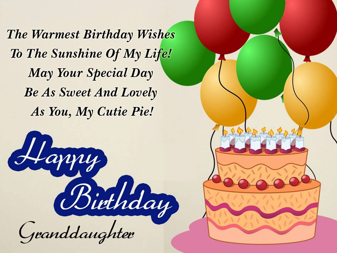 The Warmest Birthday Wishes Sweet Sayings About Granddaughters