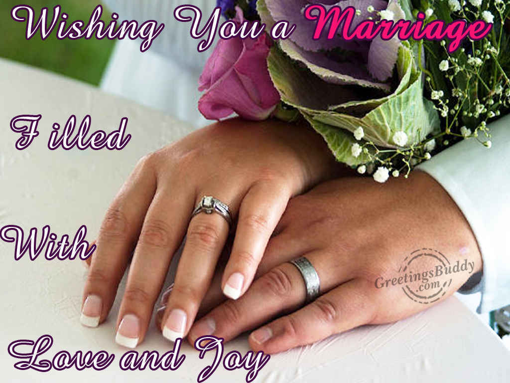 Wishing You A Marriage Happy Married Life Wishes Images Download