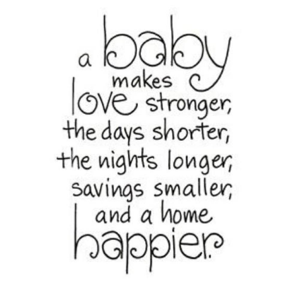 A Baby Makes Love Mommy to Be Quotes
