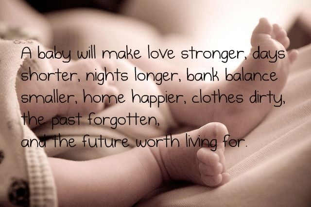 A Baby Will Make Mommy to Be Quotes