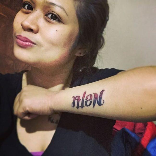 Ambigram Tattoo (12)