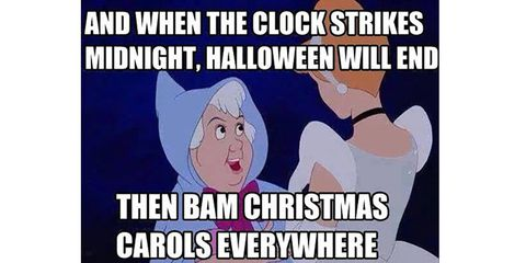 And When The Clock Halloween Day Meme
