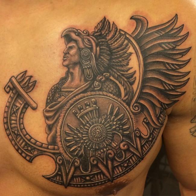 Aztec Tattoos (17)