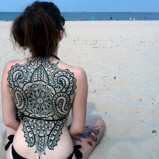 Back Tattoo 81