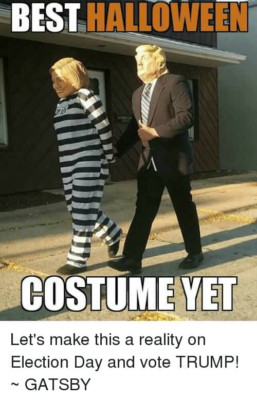 Best Halloween Costume Yet Halloween Day Meme