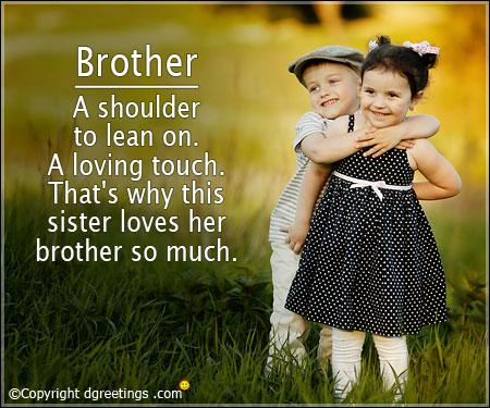 Brother A Shoulder To Brother Quotes
