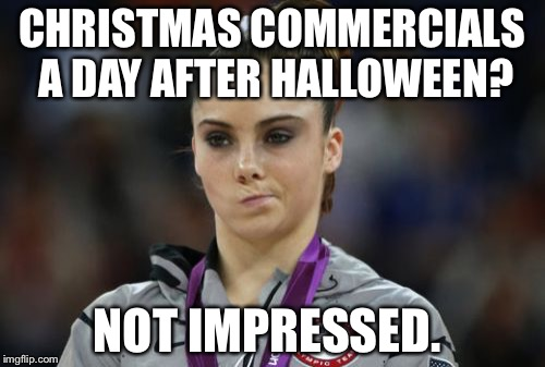 Christmas Commercials A Day Halloween Day Meme