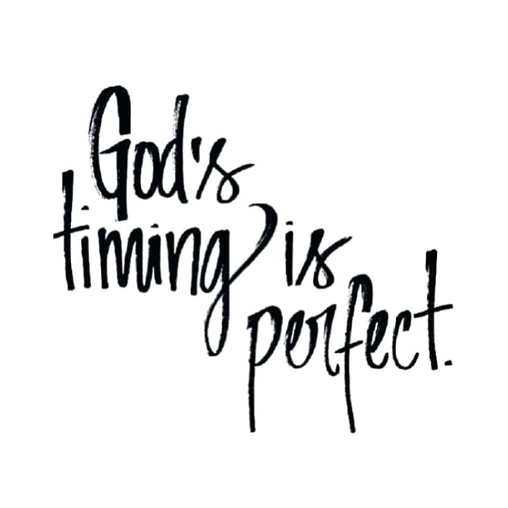 God's Timing Is Perfect Mommy to Be Quotes