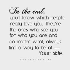 In The End You'll Know Which Abandonment Quotes