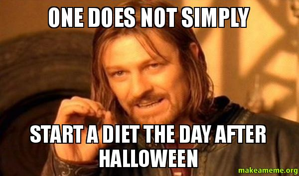 One Does Not Simply Halloween Day Meme