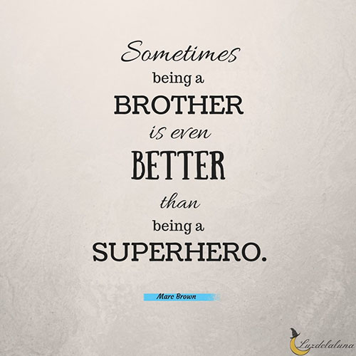 Sometimes Being A Brother Brother Quotes