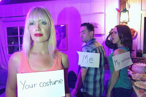 Your Costume Me My Costume Halloween Day Meme