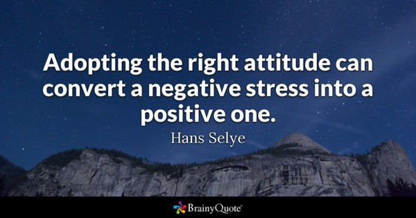 Adopting The Right Attitude Attitude Quotes