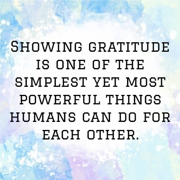 Appreciation Quotes Showing Gratitude Is One