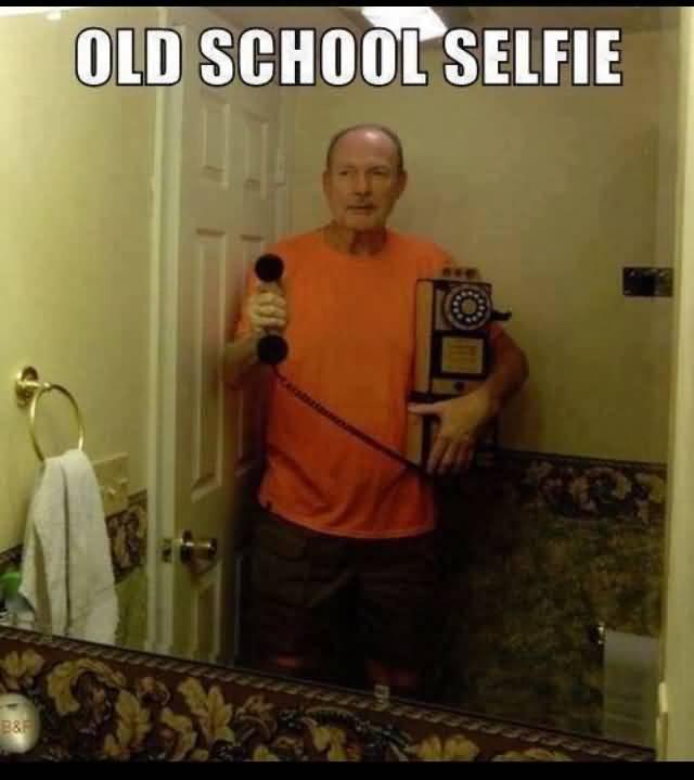 Old School Selfie Back In My Day Meme
