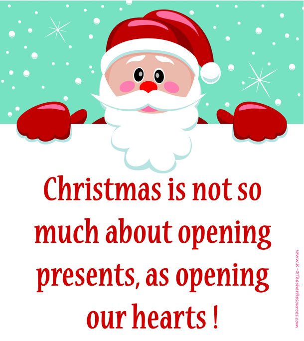 Santa Claus Quotes Christmas Is Not So