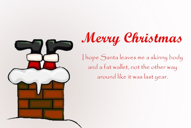 Santa Claus Quotes Merry Christmas I Hope