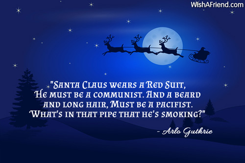 Santa Claus Quotes Santa Claus Wears A Red