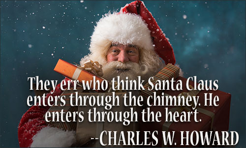 They Err Who Think Santa Claus Quotes
