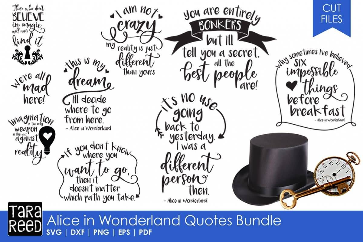 40 Alice In Wonderland Quotes Sayings Collection Quotesbae