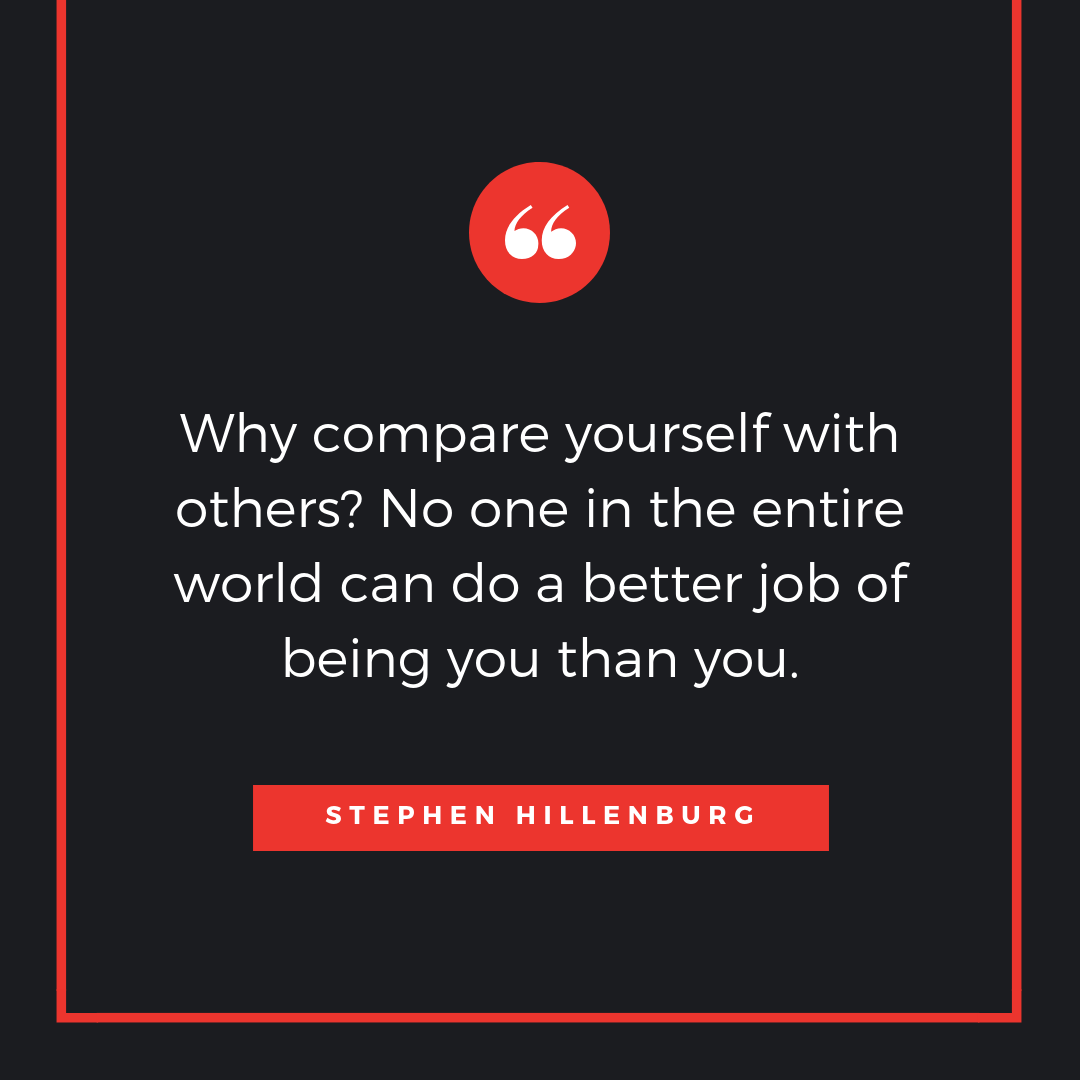 Why Compare Yourself With Stephen Hillenburg Quotes