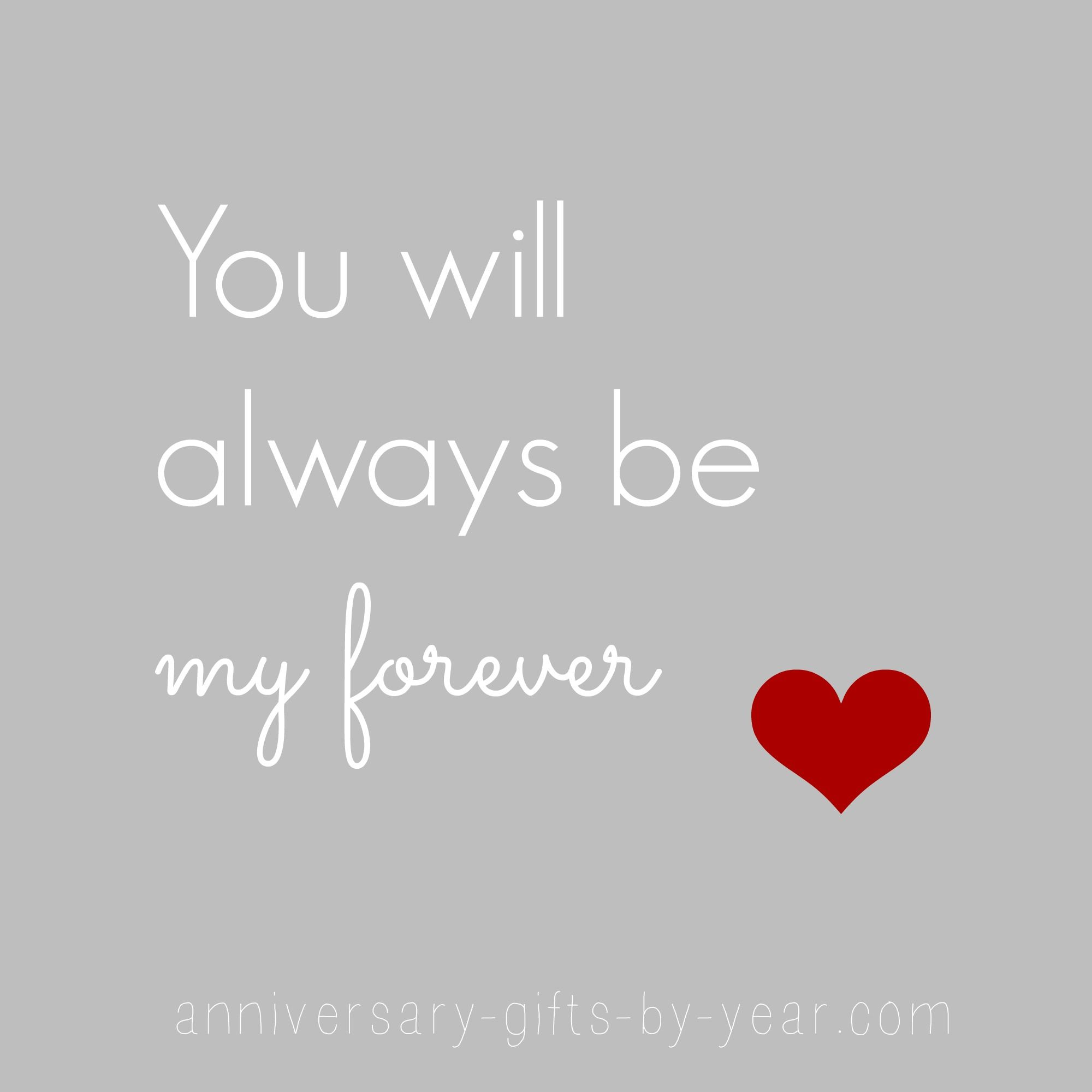 You Will Always Be Anniversary Quotes