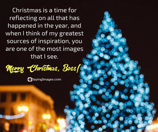Best Christmas Wish For Boss