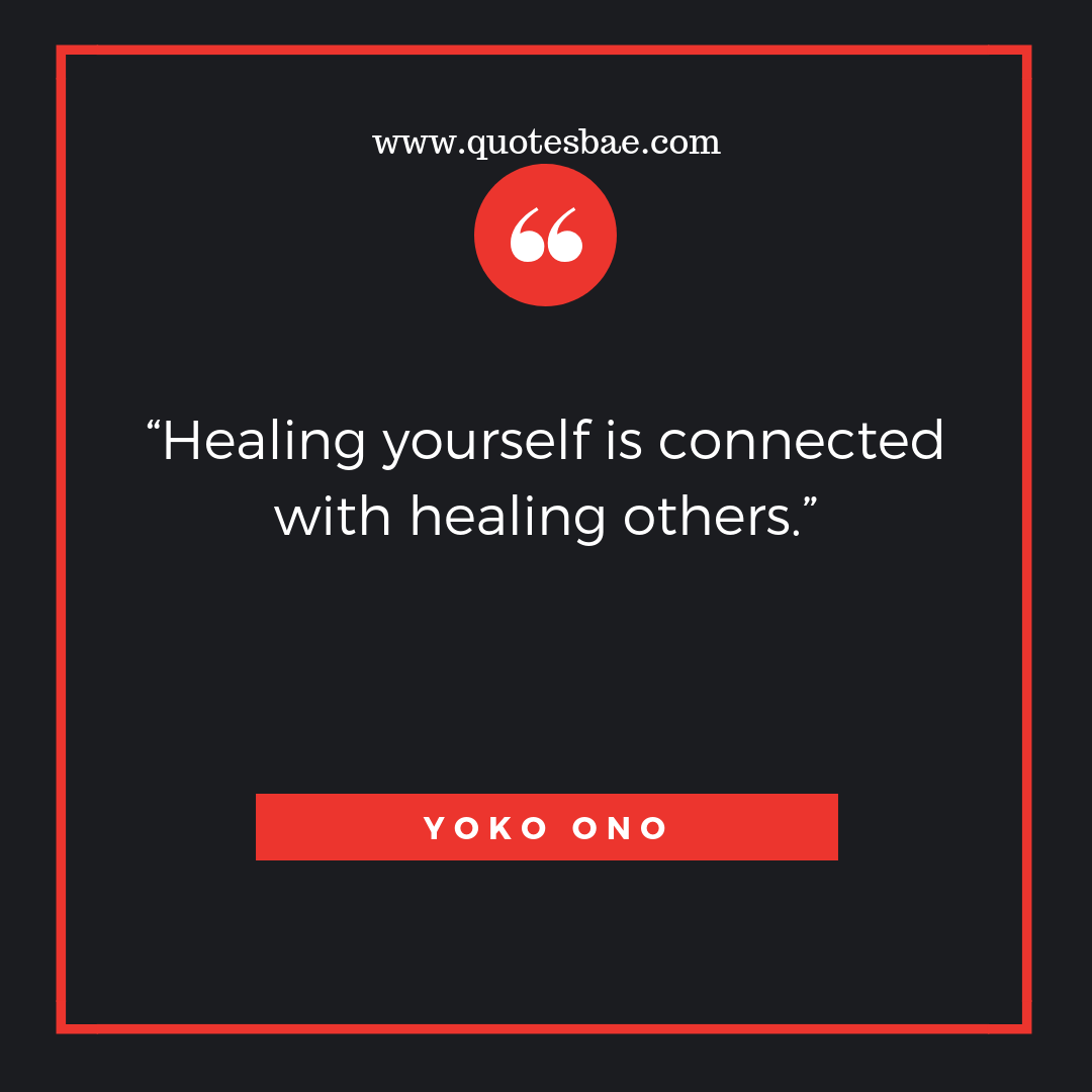 Healing Yourself Is Connected Move On Quotes After Break Up