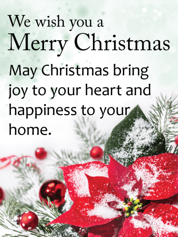 I Love To Wish You Merry Christmas